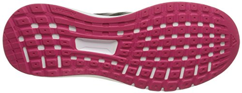 Adidas - Duramo 7, Sneakers da donna Nero (Core Black/Night Metallic/Bold Pink)
