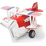 The Flyers Bay Biplane Airplane Model Decor Toy, Red