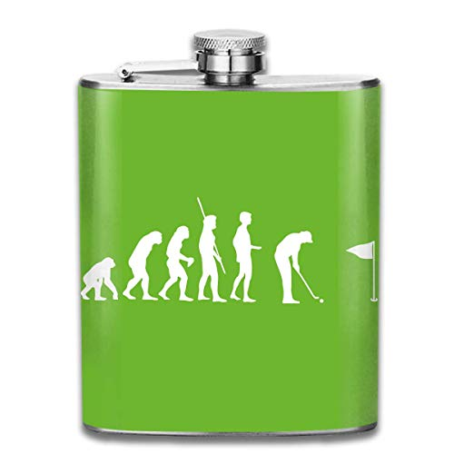 deyhfef Men and Women Thick Stainless Steel Hip Flask 7 OZ Evolution Billiards Pocket Bottle For Drinking Liquor Rum Utensilios de bar