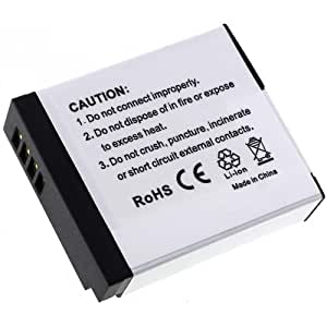 Batterie pour Panasonic Lumix DMC-GM1, 7,2V, Li-Ion [ Batterie pour appareil photo numérique ]