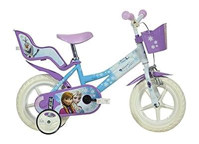 Disney Frozen - Bicicleta para niña de Dino Bikes