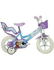 """Frozen 65DI063 - Bicicleta 12"""" para niña"""