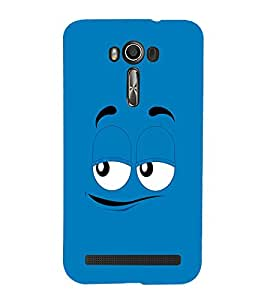 EPICCASE Blue eyes cartoon Mobile Back Case Cover For Asus Zenfone 2 Laser ZE500KL (Designer Case)