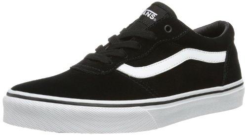 Vans - Y Milton (Suede), Sneakers infantile Nero (Noir (Black/White))