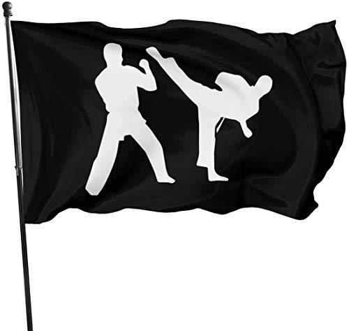 Oaqueen Flagge/Fahne, Outdoor Karate Garden Flag, Demonstration Flag - 3 X 5 Ft