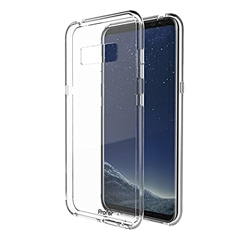 Samsung Galaxy Note 8 Hülle, Profer TPU [Crystal Clear] Transparent