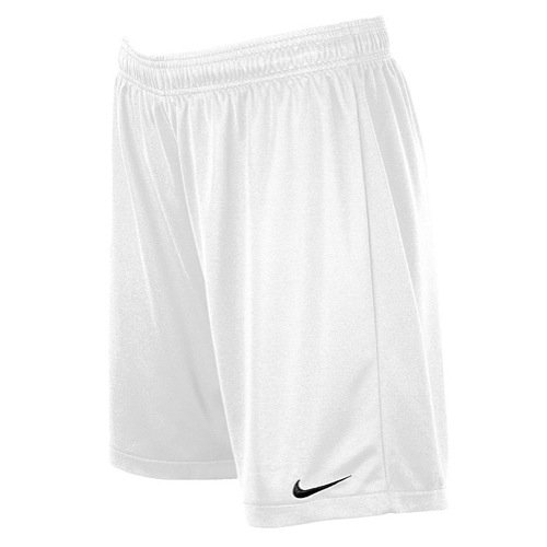 Nike Womens White Equalizer Knit Shorts Large (Jersey Nike Elastische Taille)