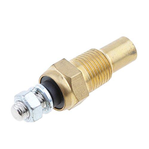 IPOTCH 1 Stück Wassertemperatursensor Universell für Motorrad Motor Kühl- und Heizsystem Motorkühlung Thermostatschalter