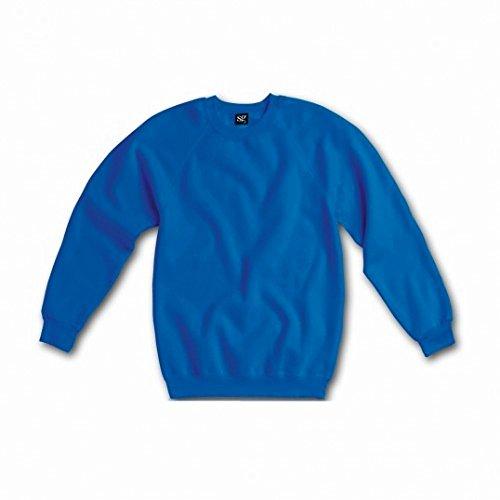 Sweatshirt à manches longues SG pour femme Bleu royal