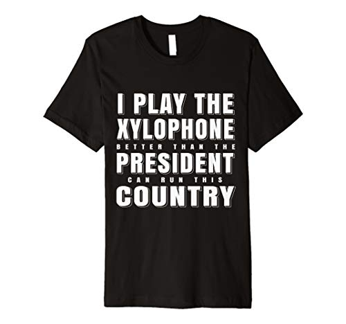 Xylophon Spieler Lehrer Xylofon T-Shirt I Geschenk Vibraphon