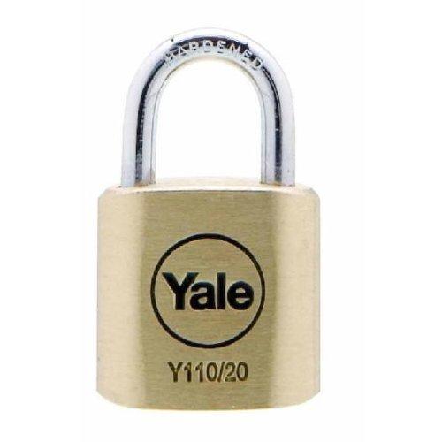 Yale Y110/20/111/1 Candado de Seguridad, 20 mm