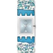 Swatch EDGE OF ADVENTURE - Reloj para niñas de cuarzo, correa de caucho color varios colores