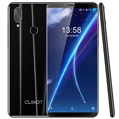 "CUBOT X19S 4G Dual SIM Smartphone ohne Vertrag, 5.93"" IPS FHD+ Touch Display mit 4000mAh Akku, 4GB Ram+32GB interner Speicher, Android 9.0, Octa-Core 2.0GHz, 8MP Frontkamera/16MP Hauptkamera (Schwarz)"