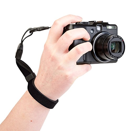 OP/TECH Cam Strap QD for Compact Cameras and Binoculars - Black