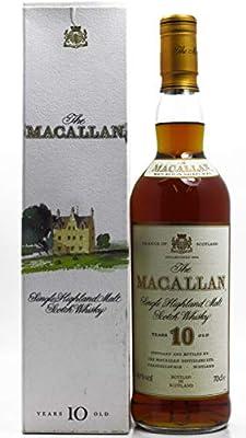 Macallan - Single Highland Malt (old style) - 10 year old Whisky