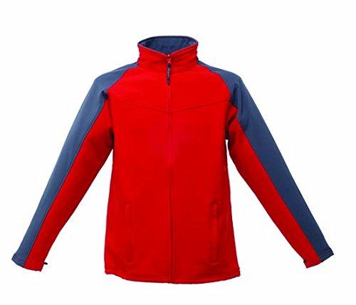 Regatta Herren Jacke Classic rosso/grigio foca/grigio foca M