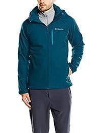 Columbia Cascade Ridge II Softshell, Chaqueta Para Hombre, color azul (Phoenix Blue), tamaño XS