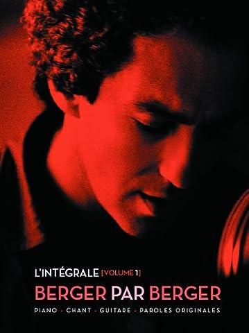 Intégrale Berger par Berger P/V/G (L') vol 1
