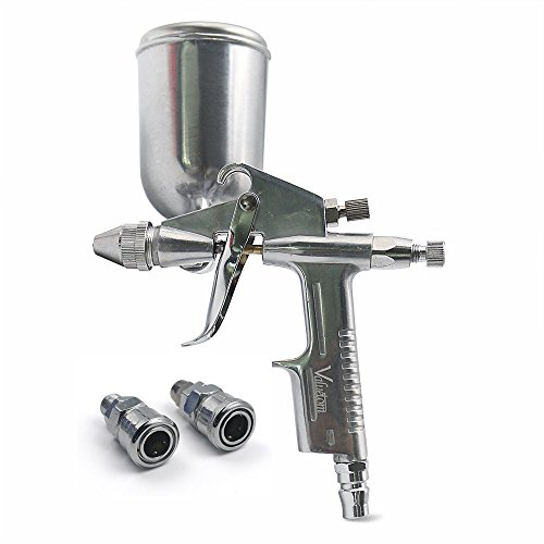 Valuetom Pistola de Pintura Kit de Pistola de Pulverizadora y Profesional de la Herramienta de Pintura Boquilla 0.5 mm para Pared y Coche