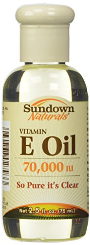 Sundown - Pure Vitamine E Huile, 70 000 Ui De Peau - 2,5 Oz