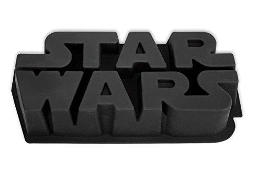 Star Wars Logo Backform, Kuchenform aus Silikon mit Rezeptvorschlag Silikon Star Wars Kuchenform