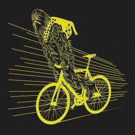 SW: Biker Chewie - Stofftasche / Beutel Rot