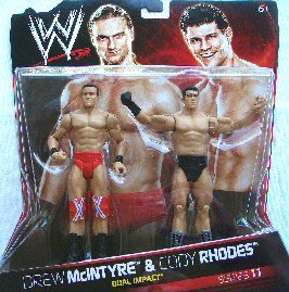 WWE-V1536-Catch-Figuren Gelenk-Serien Double Pack 11-Drew McIntyre & Cody Rho