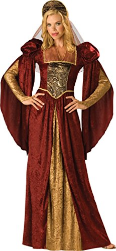 Renaissance Maiden Für Erwachsene Kostüm - InCharacter Renaissance Maiden Damen Kostüm Mittelalterliche