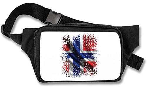 Norway Europe Oslo Country Series Nationality Flag Nice to Bauchtasche -