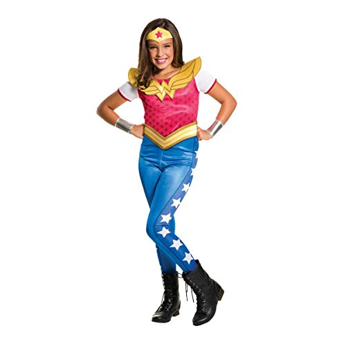 Rubie's 3620743 - DC Super Hero Girls Wonder Woman Kinderkostüm