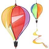 Yunso Windspiel,Ballon Windmühle UV-Schutz & Wasserdicht Groß Windrad 3D Windspiel Garten BalkonTerrasse Dekoration