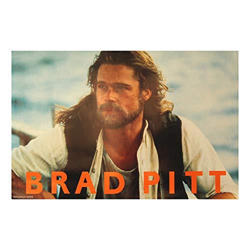 Brad Pitt Poster  Cool Hollywood Actor Artwork Snatch Fight Club Movie