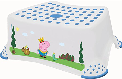 Peppa Pig Tabouret avec pieds antidérapants - Prince George
