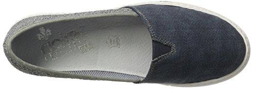 Rieker M2750, Mocassins Femme Bleu (Jeans/jeans / 14)
