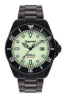 Gigandet G2-012 - Reloj para hombres, correa de acero inoxidable color negro de Gigandet