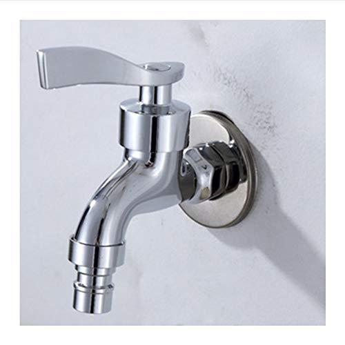 Lddpl Edelstahlspender Leitungswasser Öl Bier Waschen Maschine Wasserhahn Chrom Wand Montiert Gewinde Loch Küchenzubehör - Bier Wasserhahn Chrom