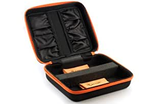 3ACTIVE® Twin Storage Case for Two 3D Glasses. Includes Two Cleaning Cloths.