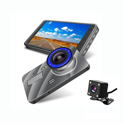 Dashcam Autokamera Video Recorder 178°Weitwinkel-1080P Full HD 4Inch Mit Nachtsicht,Kamera Loop,Gravity Sensor