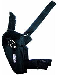 Swiss Arms - Funda para muslo, color negro, 201246