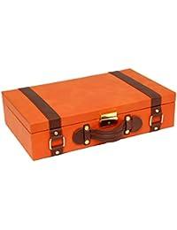 Borse Wrist Watch Display Case Organizer (Orange)