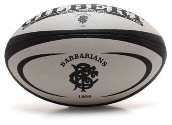 GILBERT Barbarians Replica Rugbyball