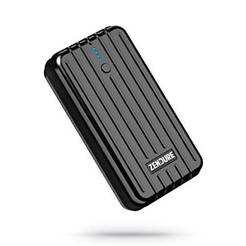 Zendure A2 super kleine Powerbank 6700mAh mit Durchgangsladung, kompakte Portable Charger für iPhone XS Max/XR/X / 8/8 Plus / 7 / 6s / 6 Plus, Galaxy S8 /S9, Huawei usw.(Schwarz)