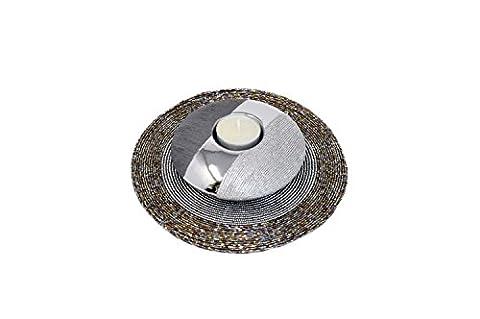 Formano Teelichtleuchte Luxor Silber mit Platzset