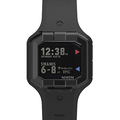 Nixon–Reloj de pulsera digital cuarzo silicona a476sw2244–00