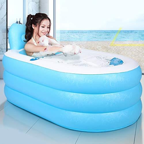 WEI Badewannen-aufblasbares Badewannen-erwachsenes bewegliches faltbares PVC-Bad