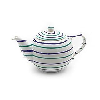 Gmundner Keramik Manufaktur 0104KTGL10 traunsee Teekanne glatt, 1,5L