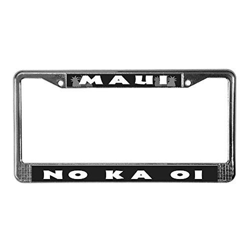cafepress-maui-no-ka-oi-license-plate-frame-license-frame-standard-by-cafepress