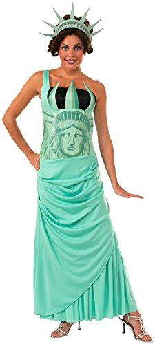 Kostüm Liberty - Rubie's 2810551STD Lady Liberty, Kostüm für Erwachsene, STD