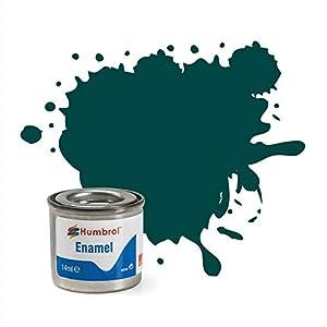Humbrol - Pintura Esmalte, Color British Racing Green (Hornby AA0239)