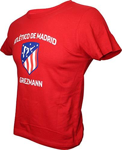 Atlético de Madrid Camiseta Infantil Team - Rojo - Griezmann - 7...